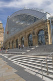 Railway station in Liverpool Stock Photos