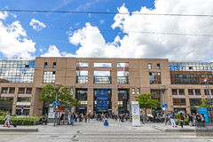 Railway Station in Lyon, France Gare de Lyon-Part-Dieu Stock Image