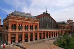 Railway station Madrid Royalty Free Stock Photography