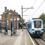 Railway station and museum in Ede Royalty Free Stock Images