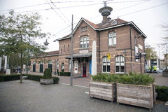 Railway station and museum in Ede. Railway station and museum in the dutch town of Ede stock images