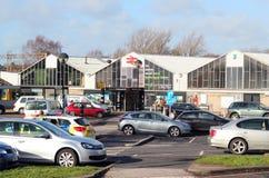 Railway station, Northampton, UK. Stock Photography