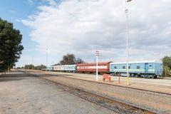 Railway station in Okahandja Stock Photography