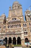 Railway station old building in Mumbai Royalty Free Stock Image