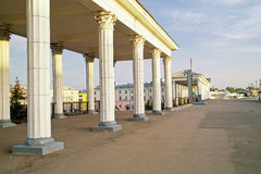 Railway station is Oryol Royalty Free Stock Images