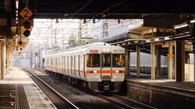 Railway Station in Osaka, Japan Stock Photo