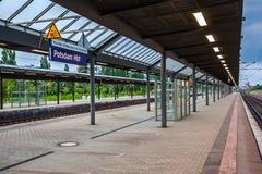Railway Station Potsdam Hbf in Potsdam, Germany Stock Images