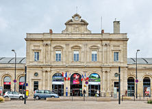 Railway station of Reims Stock Photo