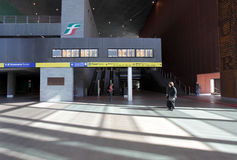 Railway station in Rome, Italy Stock Photos