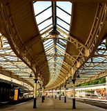 Railway Station. Roof at Weymss Bay in Scotland Royalty Free Stock Photo