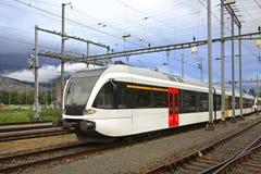 Railway station in Sargans. Switzerland Stock Photography