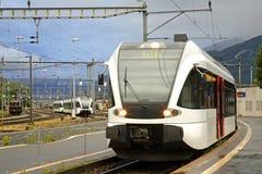 Railway station in Sargans. Switzerland Stock Images