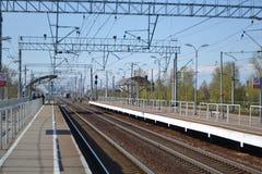 Railway station Slav Stock Photography