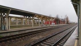 Railway station in Tartu, Estonia Royalty Free Stock Photography