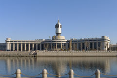 Railway station of Tianjin city Royalty Free Stock Image