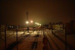 Railway station. In Ukraine, Zhytomyr Stock Photography