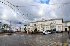 Railway station in Vitebsk, Belarus Stock Images