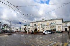 Railway station in Vitebsk, Belarus Stock Images