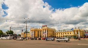 Railway station in Voronezh Royalty Free Stock Photography