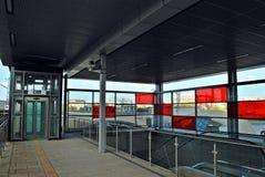 Railway station Warsaw Stadion Royalty Free Stock Photo