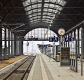 Railway station in Wiesbaden Stock Images