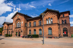Railway station in Ystad Stock Photos