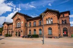 Railway station in Ystad Stock Photos