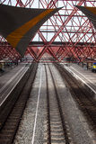 Railway station in Zaandam Stock Photography