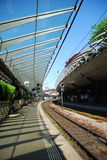 Railway station in Zurich. Royalty Free Stock Images