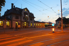 Railway station,Zurich Stock Photo