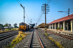 Railway stations in Thailand Stock Image