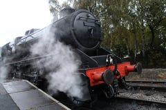 Railway Steam Engine. Royalty Free Stock Image
