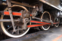 railway steam locomotive Stock Image