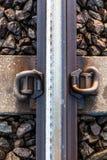 Railway steel Royalty Free Stock Image