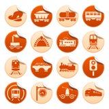 Railway stickers Stock Photos