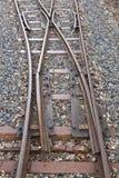 Railway switch Stock Image
