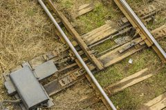 Free Railway Switch Royalty Free Stock Photography - 50870877