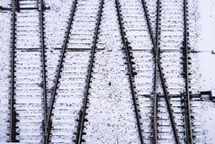 Railway switch Stock Photography