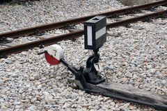 Railway switch Stock Photos