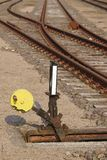 Railway switch - Symbolizes a decision Stock Photography