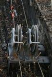 Railway Switching Equipment Royalty Free Stock Photo