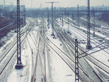 Railway system Royalty Free Stock Image