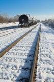 Railway Tank Cars Stock Images