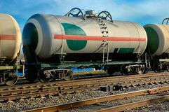 Railway tank Royalty Free Stock Photo
