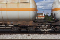 Railway tank wagons Stock Photos