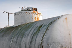 Railway tanks for oil Royalty Free Stock Photography