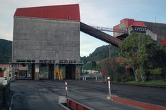 Railway terminal Stock Image