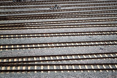 Railway Texture Pattern Background Royalty Free Stock Image