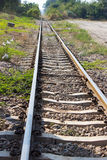 The railway in Thailand. Stock Photography