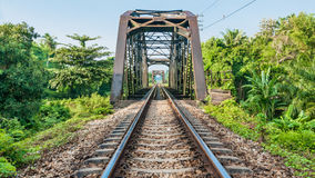 Railway in Thailand Stock Images